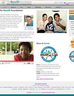 The Boselli Foundation Website