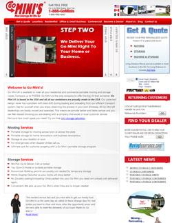 Go Minis Website