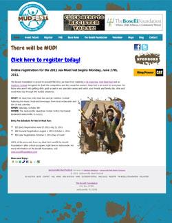 Jax Mud Fest Website