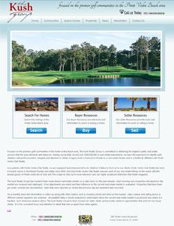 Kush Real Estate Website